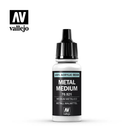 METALLIC MEDIUM 17ml (6-pack)