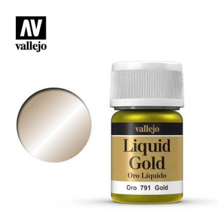 GOLD (VALLEJO MODEL COLOR - ALCOHOL BASED NEW FORMULA!)
