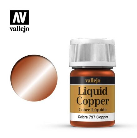 COPPER (VALLEJO MODEL COLOR - ALCOHOL BASED NEW FORMULA!)