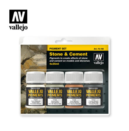 STONE & CEMENT Pigment set