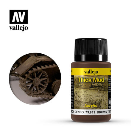 BROWN THICK MUD (40 ml)