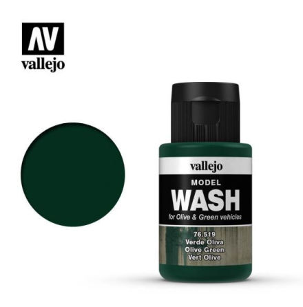MODEL WASH 35ML. OLIVE GREEN WASH