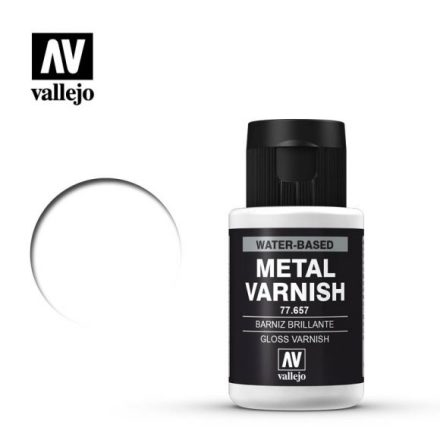 Gloss metal varnish (VALLEJO METAL COLOR) 32 ml