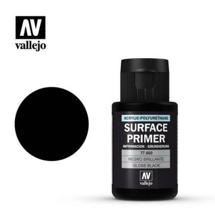 Gloss black primer (VALLEJO METAL COLOR) 32 ml