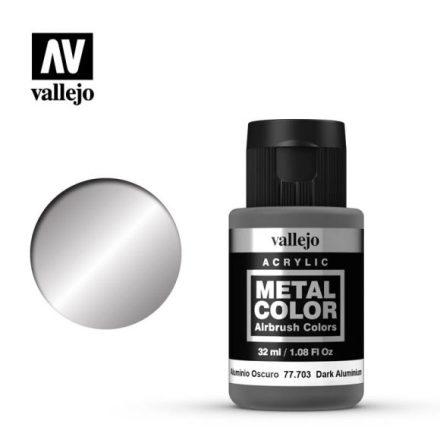 Dark Aluminium (VALLEJO METAL COLOR) 32 ml