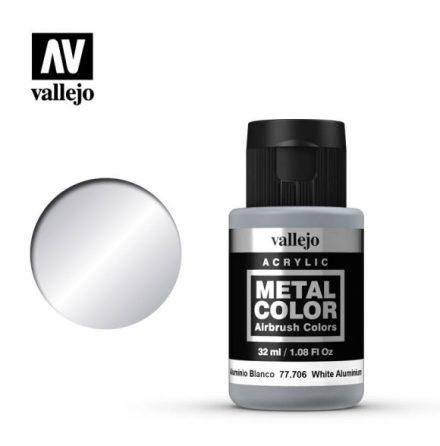 White Aluminium (VALLEJO METAL COLOR) 32 ml