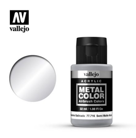 Semi matte Aluminium (VALLEJO METAL COLOR) 32 ml