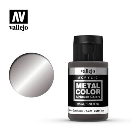 Burnt Iron (VALLEJO METAL COLOR) 32 ml
