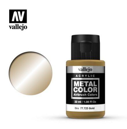 Gold (VALLEJO METAL COLOR) 32 ml