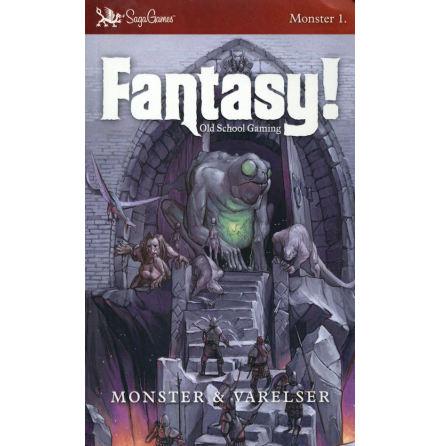 Fantasy! Old School Gaming: Monster & Varelser