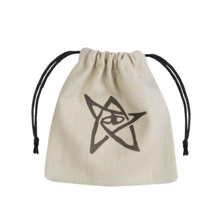 Call of Cthulhu Beige & black Dice Bag