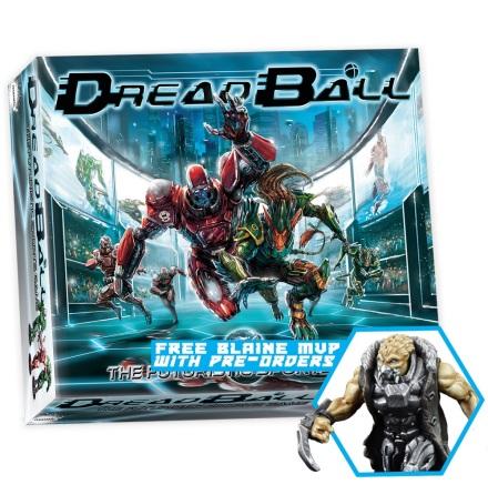 DreadBall 2nd Edition Boxed Game (20% rabatt/discount!)