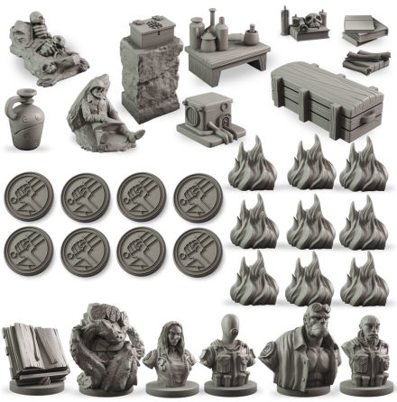 Hellboy: The Board Game – Counter Upgrade Set