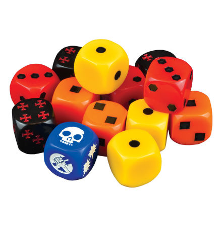 Hellboy: The Board Game – Dice Booster