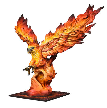 Basilean Phoenix Epic Monster Kit