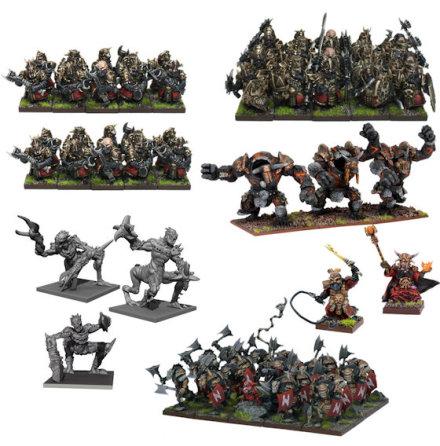 Abyssal Dwarf Mega Army (release Mars 2020)