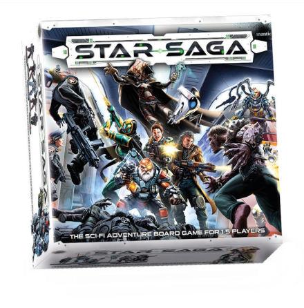 Star Saga: The Eiras Contract Core Set (20% rabatt/discount!)