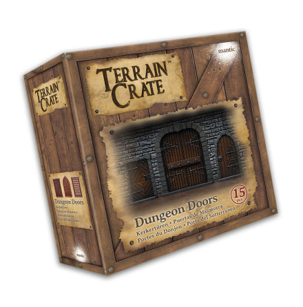 TERRAIN CRATE: DUNGEON DOORS