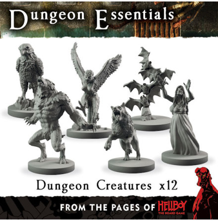From the pages of Hellboy´ Dungeon Creatures