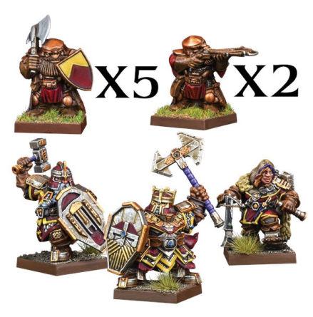 VANGUARD: Dwarf Warband Set