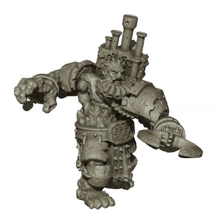VANGUARD: Abyssal Dwarf Support Pack: Infernox