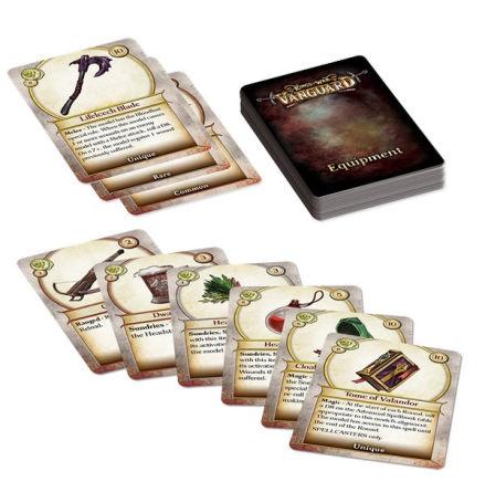 VANGUARD: Equipment Cards