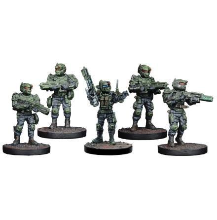 GCPS Ranger Sniper / Tank Hunter Team