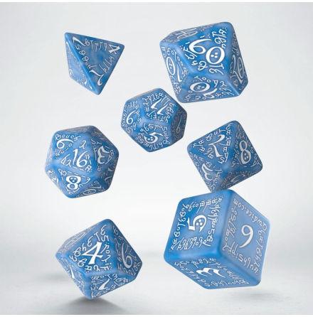 Elvish Glacier & white Dice Set (7)