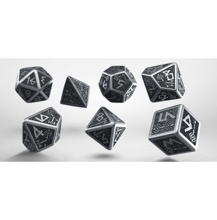 Metal Dwarven Dice Set (7)
