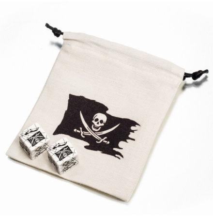 Pirate Dice & Bag (2+1)