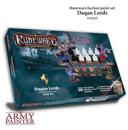 Runewars DAQAN LORDS Paint Set
