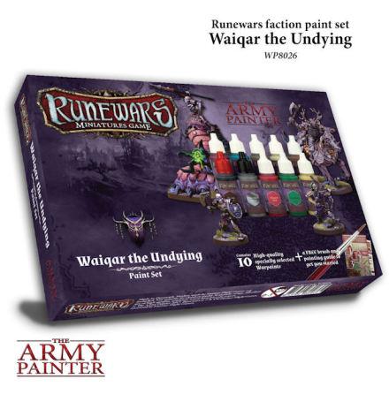 Runewars WAIQAR THE UNDYING Paint Set