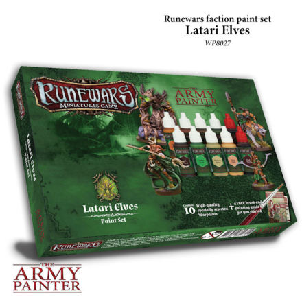 Runewars LATARI ELVES Paint Set
