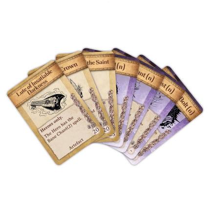 Kings of War: Artefact & Spell Cards