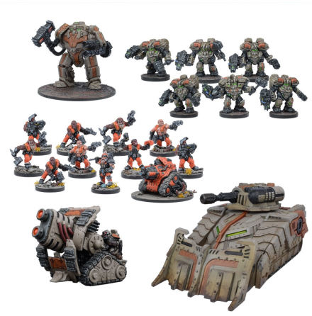 WARPATH: Forge Father Reserve Force