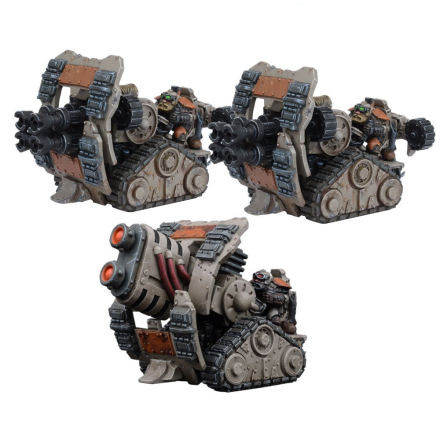 WARPATH: Forge Father Weapons Platform Formation