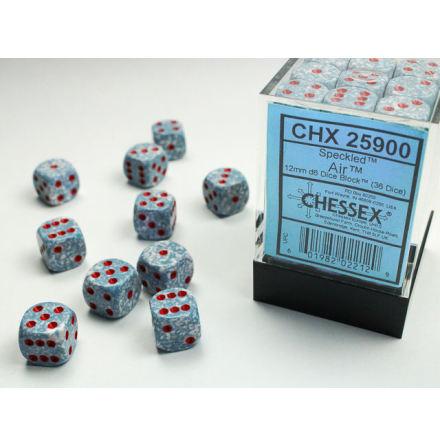 Speckled 12mm d6 Air Dice Block (36 dice)