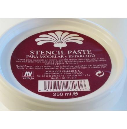STENCIL PASTE 180 250 ml (Utgående - 20% rabatt!)