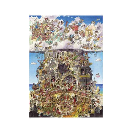 Prades: Heaven and Hell (1500 pieces triangular box)