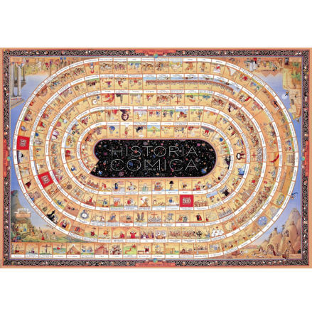Degano: Historica Comica Opus1 (4000 pieces triangular box)