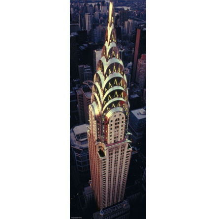 Sights, Chrysler Building 1000 pieces Vertical
