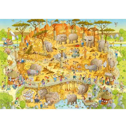 Funky Zoo: African Habitat (1000 pieces)