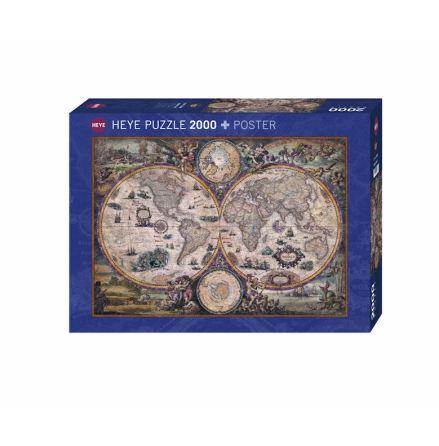 Map Art: Vintage World (2000 pieces)