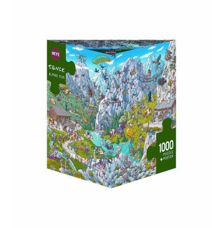 Tanck: Alpine Fun (1000 pieces triangular box)