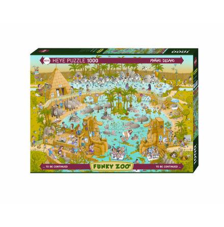 Funky Zoo: Nile Habitat (1000 pieces)