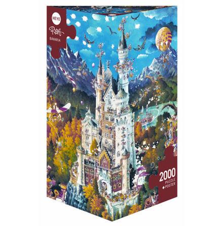 Ryba: Bavaria (2000 pieces triangular box)