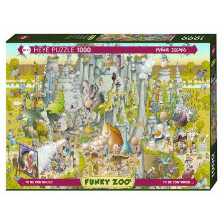 Funky Zoo: Jurrasic Habitat (1000 Pieces)
