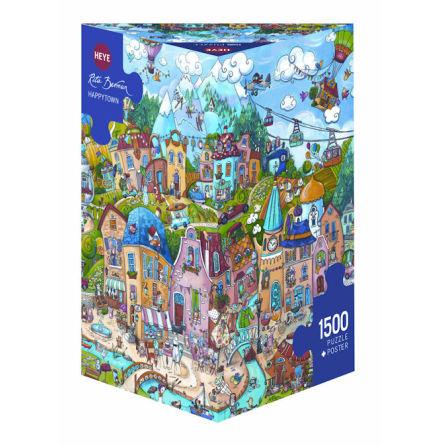 Berman: Happytown (1500 pieces triangular box)