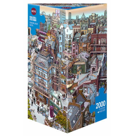 Göbel/Knorr: Sherlock & Co. (2000 pieces triangular box)