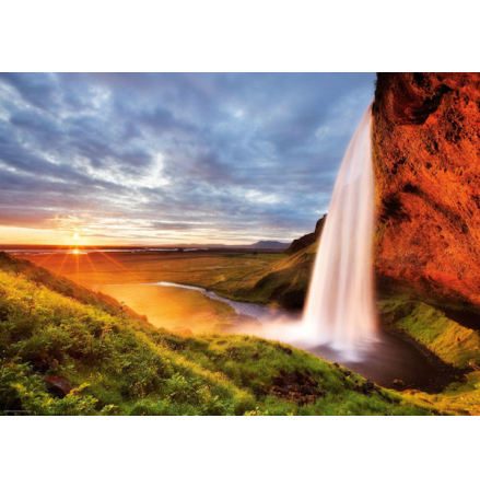 AvH: Seljalandsfoss Waterfall (1000 pieces)
